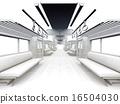 白色的通勤列車 16504030