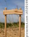 pointer, wooden, forest 16509199