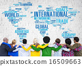 International World Global Network Globalization International C 16509663