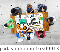 Customer Service Support Solution Assistance Aid Concept 16509913