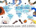 International World Global Network Globalization International C 16510091