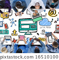 Social Media Social Networking Technology Connection Concept 16510100