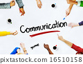 Multi-Ethnic Group of People and Communication Concepts 16510158