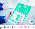 Password Privacy Log in Sucurity Lock Guard Concept 16511014