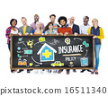 Diversity Casual People Insurance Policy Teamwork Support Concep 16511340