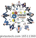 Strategy Solution Tactics Teamwork Growth Vision Concept 16511360