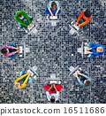 Diversity Teamwork Communication Digital Networking Concept 16511686
