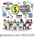 Multiethnic People Meeting Safety Risk Business Insurance Conce 16511933