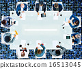 Business People Corporate Working Office Team Professional Conce 16513045