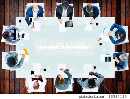 Business People Corporate Working Office Team Professional Conce 16513136