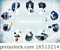 Business People Corporate Working Office Team Professional Conce 16513214