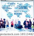 Saving Insurance Plans Ideas Finance Growth Analysis Concept 16513482