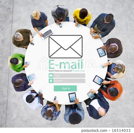 Email Online Messaging Social Media Internet Concept 16514033