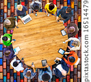 Group of Multiethnic People Connected Digital Devices Concept 16514479