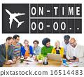 On Time Punctual Efficiency Organization Management Concept 16514483