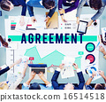 Agreement Deal Collaboration Business Marketing Concept 16514518