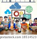 Cloud Computing Network Online Internet Storage Concept 16514523