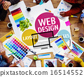 Web Design Content Creative Website Responsive Concept 16514552