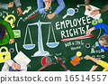 Employee Rights Employment Equality Job Education Learning Conce 16514557