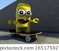 Mr Paz skateboarding 16517502