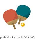乒乓球 16517845