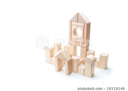 Building Block House 16518146