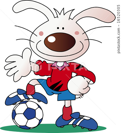 Rabbit football team 16520305