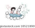 外部露天池 洗澡 朋友 16521890