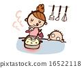 食物 媽媽 碟 16522118