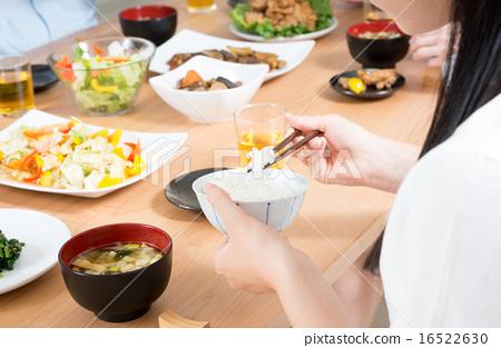 进餐 稻米 水稻 16522630