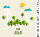 绿色 生态 矢量 16524201