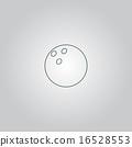 Bowling ball Vector illustration 16528553