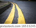 人行道 交通標誌 路標 16533245