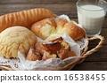 面包 食品 夹心面包 16538455