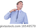 Stressed businessman 16540570