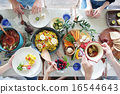 有机食品午餐Macrobiotic 16544643
