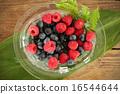 碗 藍莓 水果 16544644