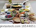 有机食品午餐家庭聚会 16544651