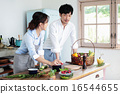 有机厨房夫妇 16544655
