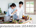 有机厨房夫妇 16544659