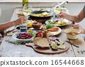 午餐 午飯 食物 16544668