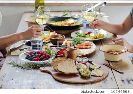 午餐 午饭 食物 16544668
