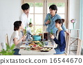 午餐 午飯 食物 16544670