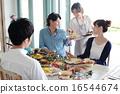 午餐 午飯 食物 16544674