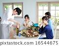 午餐 午飯 食物 16544675