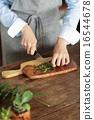 迷迭香 碟 烹調的 16544678