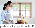 有机厨房夫妇 16544685