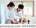 有机厨房夫妇 16544689