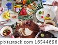 有機食品午餐家庭聚會 16544696