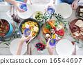 食物 同伴 碟 16544697